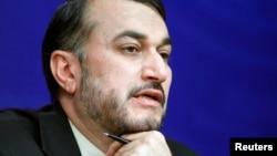 Iran's Deputy Foreign Minister Hossein Amir-Abdollahian, Dec. 18, 2012.