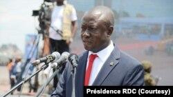Augustin Kabuya, kalaka mokonzi ya UDPS, lingomba lya mokonzi ya mboka Félix Tshisekedi, Kinshasa, 2020. (Présidence RDC)