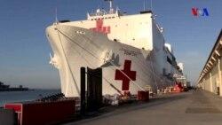"""ABŞ-ın """"Comfort"""" gəmi xəstəxanası"""