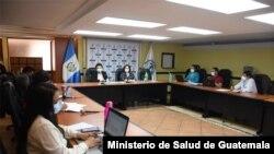 Guatemala estableció un Comité Nacional de Coordinación para Vacunación contra el COVID-19. [Foto: Cortesía del Ministerio de Salud]