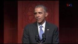 Presidente Obama faz primeira visita a uma mesquita americana