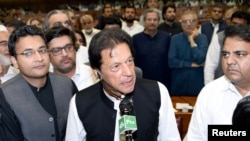 Imran Khan National Assembly
