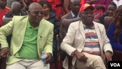 UMnu. Mogran Tsvangirai loMnu. Welshman Ncube