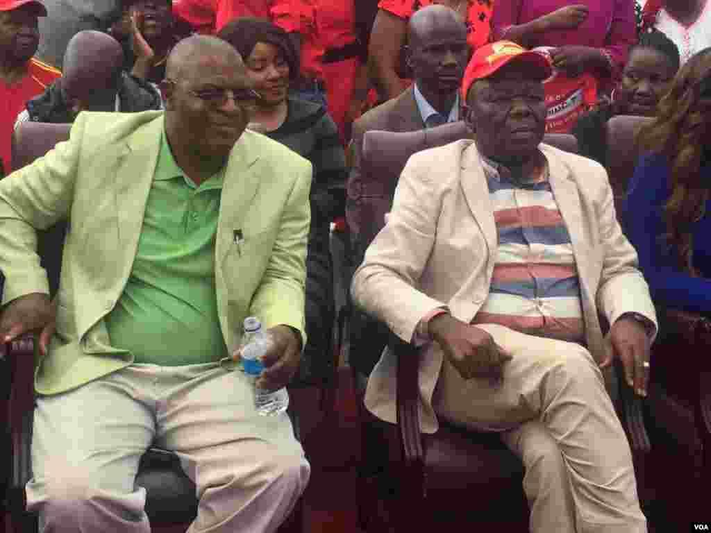 Mogran Tsvangirai and Welshman Ncube