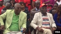 VaMorgan Tsvangirai naVaWelshman Ncube
