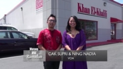 Warung VOA Ramadan: Toko Muslim Khan el Khalili (Bag 1)