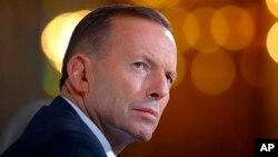 """被黨內議員""""逼宮""""下台的澳大利亞總理阿博特"""