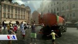 Avrupa Aşırı Sıcakların Etkisi Altında