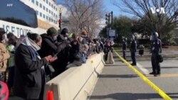 華盛頓舉行總統就職典禮 城市氛圍平靜