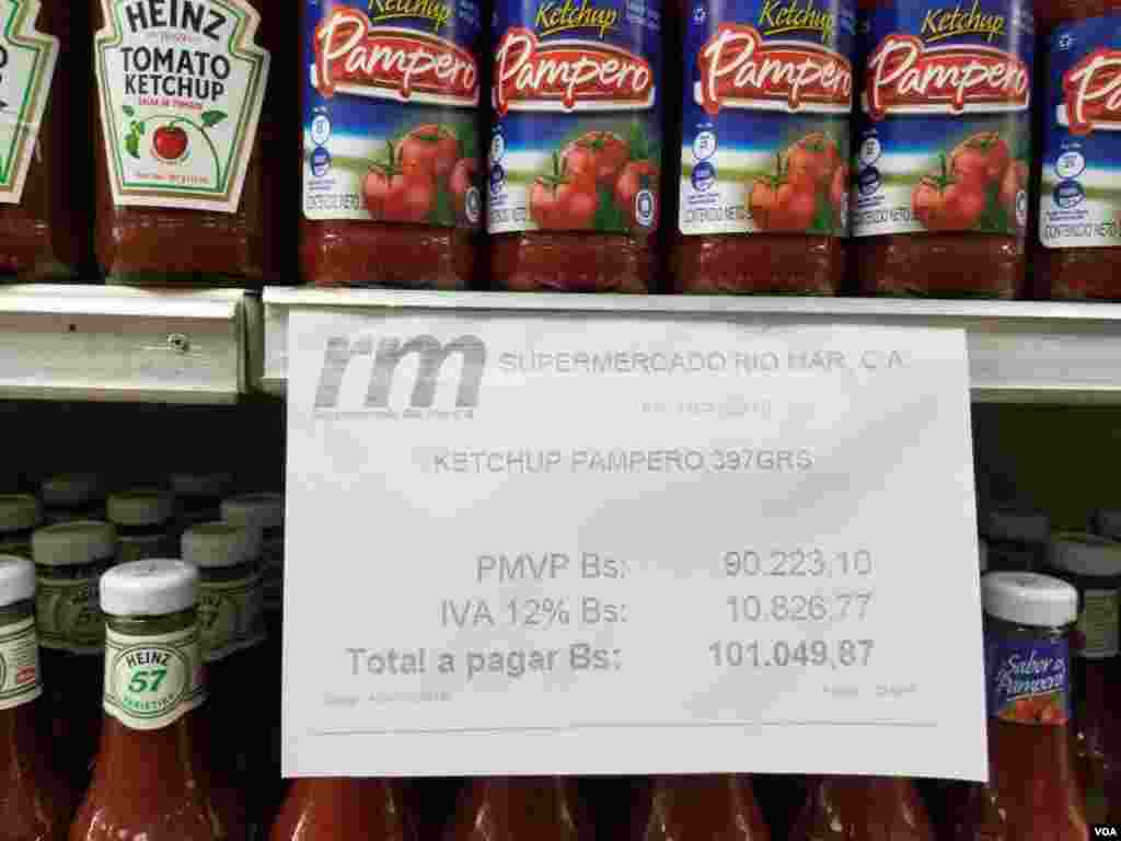 Con un salario mínimo integral podrá comprar siete botellas de ketchup en promedio.