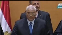2013-07-04 美國之音視頻新聞: 埃及臨時總統宣誓就職