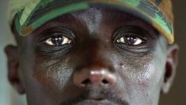 Kiongozi wa kijeshi wa kundi la M23 Brigadia-General Sultani Makenga huko Goma,
