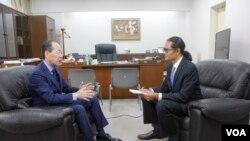 Mr.Ichiro MARUYAMA ကို ကိုေက်ာ္ေက်ာ္သိန္းေတြ႔ဆံုေမးျမန္း