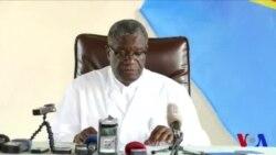 """Mukwege reçoit le prix Nobel de la paix """"avec humilité"""" (vidéo)"""