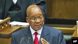 South African President Jacob Zuma (file photo)