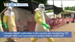 VOA60 Afrikaa - Guinea: Health authorities are monitoring 155 people for Marburg virus