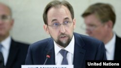 Komiseri mukuru wa ONU ajejwe agateka ka muntu, Zeid Ra'ad Al Hussein