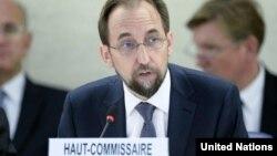 Верховный комиссар ООН по правам человека Зейд Раад аль-Хуссейн (архивное фото)