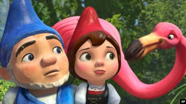 "Scene from ""Gnomeo and Juliet"""