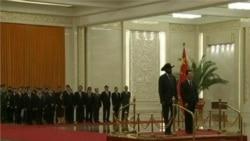 South Sudan's President Salva Kiir meets with Chinese counterpart Hu Jintao in Beijing