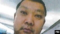 지난 2008년에서 2014년 사이 중국 내 해커들과 미국의 군사정보를 중국으로 빼돌리려 한 혐의로 구속된 중국인 수빈. (자료사진)