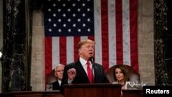 Predsjednik SAD Donald Trump govori o stanju nacije u Kongresu, 5. februar 2019.