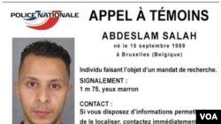 Salah Abdeslam pria kelahiran Belgia berusia 26 tahun, dinyatakan sebagai tersangka ke-8 dalam serangan di Paris yang kini masih buron (foto: dok).