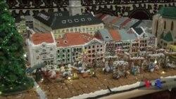 Дружина американського дипломата в Україні спекла різдвяний Львів з імбирного печива. Відео