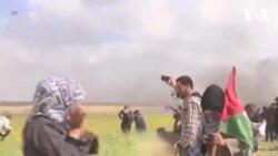 Falasdinawa 17 Suka Mutu Yayin Zanga-Zanga A Zirin Gaza