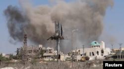 Aleppo prije dan, dva