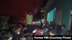 PMI Langsung Menerjunkan Relawan di Lokasi Bencana di Pandeglang, Banten (foto: Courtesy Humas PMI)