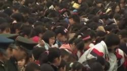 南京9千人集會紀念南京大屠殺75週年