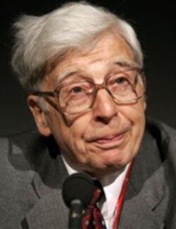 A file photo of Nobel-winner Robert Edwards