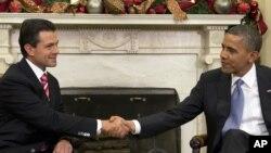 Энрике Пенья Ньето и Барак Обама