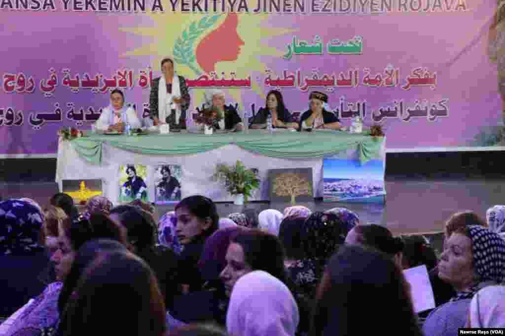 Yekîtiya Jinên Êzidî li Rojava