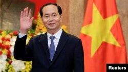 Chủ tịch Trần Đại Quang trong một sự kiện hồi đầu năm nay.
