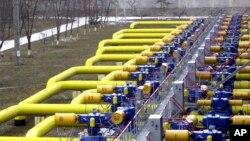 Des gazoducs entre la Russie et l'Ukraine