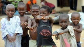 FILE - Children on Bakassi Peninsula in Cameroon (2008 photo)