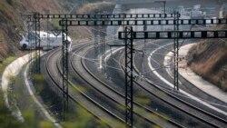 西班牙調查出軌列車的火車司機
