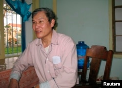 Linh mục Tadeo Nguyễn Văn Lý, 69 tuổi, bị Hà Nội kết án 4 lần với tổng cộng hơn 53 năm tù giam vì tinh thần kiên định cổ xúy cho nhân quyền ở Việt Nam.