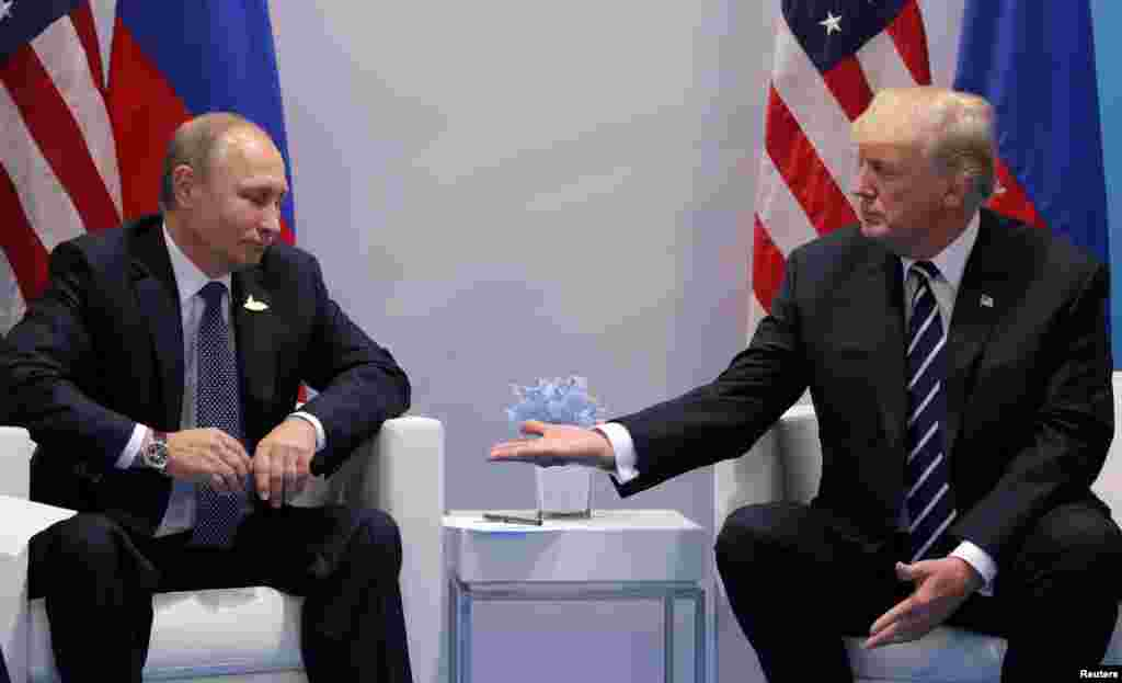 Дональд Трамп и Владимир Путин (Фото: Reuters)