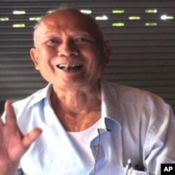 Meas Muth, 71, is a former member of the Khmer Rouge regime's central committee. In an interview in July, he told VOA Khmer any accusations against him were not legal under the rules of the court.