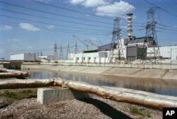 Lò phản ứng Số 4 ở Chernobyl.
