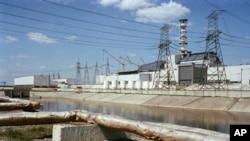 Chernobil atom elektr stansiyasida portlagan 4-blok
