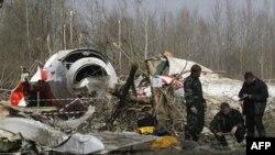 ლეხ კაჩინსკის თვითმფრინავის ჩამოვარდნის დეტალები