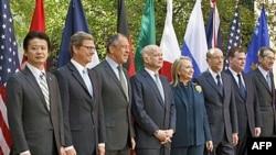 Міністри закордонних справ країн «Великої вісімки» у Вашингтоні