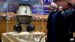 Este miércoles 1 de febrero de 201, el presidente de Irán Hassan Rouhani, defendió su posición durante una ceremonia donde conmemoró el Día Nacional de la Tecnología Espacial en Teherán.