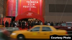 FILE - Attendees on the red carpet at an opening ceremony of the Tribeca Film Festival, New York City. (Courtesy of the Tribeca Film Festival)