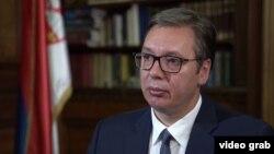 Arhiva - Predsednik Srbije Aleksandar Vučić u ekskluzivnom intervjuu za Glas Amerike
