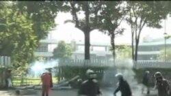 یک معترض ضد دولتی در تایلند کشته شد